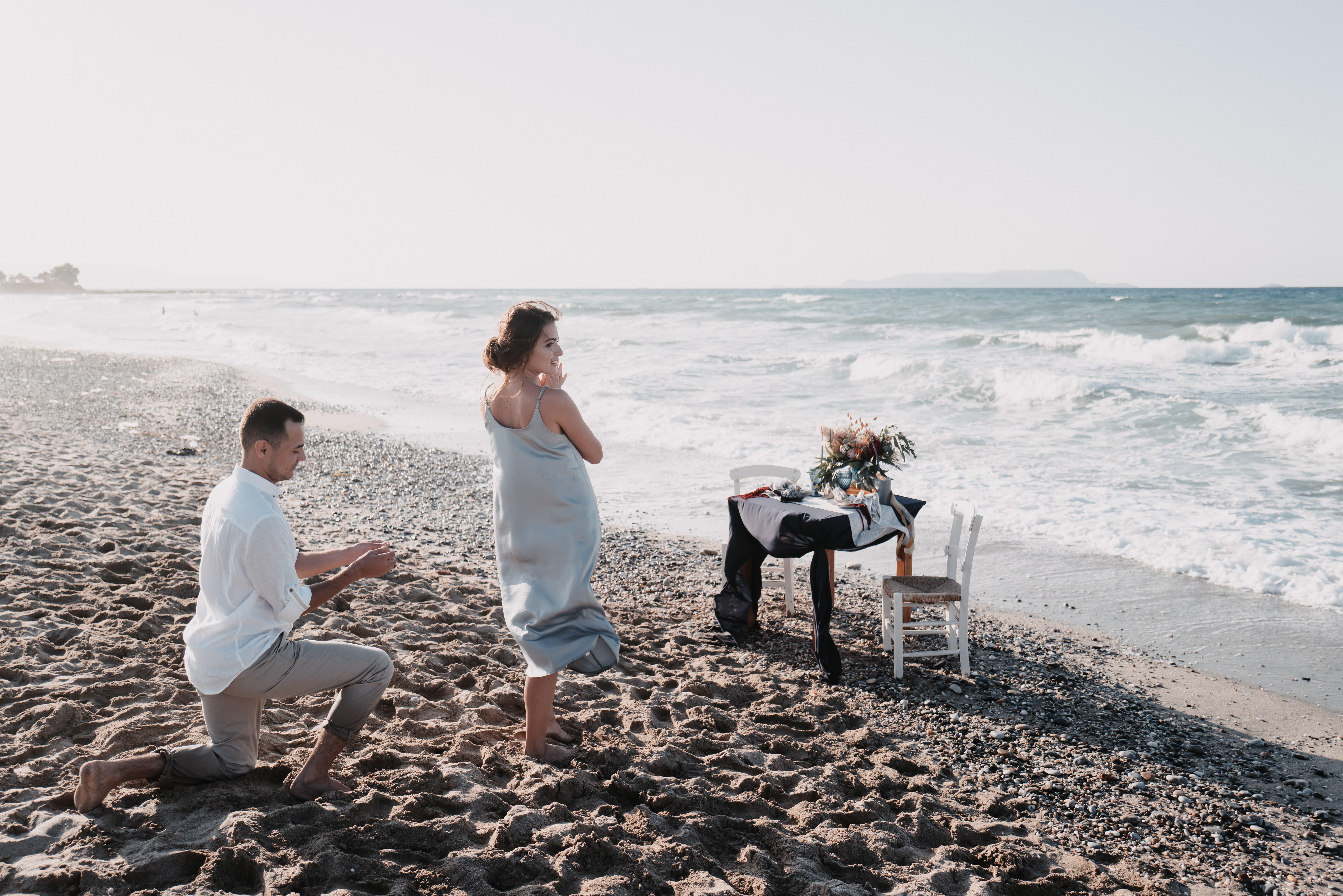 Heiratsantrag auf Kreta