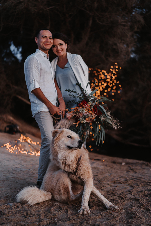 Shooting mit Hund auf Kreta